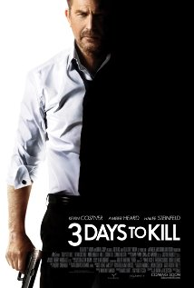3 Days to Kill (2014) (BR Rip) - New Hollywood Dubbed Movies