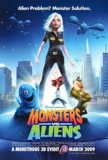 Monsters vs Aliens (2009) (BRRip)  - Cartoon Dubbed Movies
