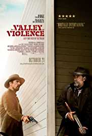 In A Valley Of Violence (2016) (BluRay)